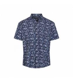 Signal kort ærmet skjorte Arthur Marina blue-20