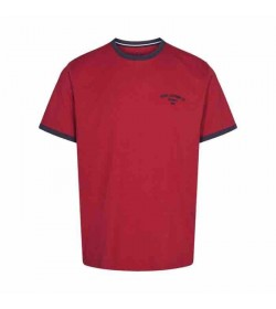 Signal t-shirt Aldo CP Poppy Red melange-20