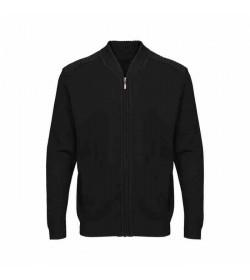 Belika zip cardigan Hamburg black-20