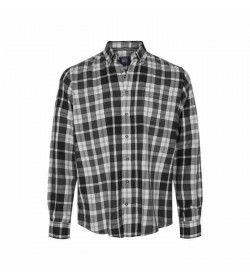 Signal skjorte Franne Check Black-20