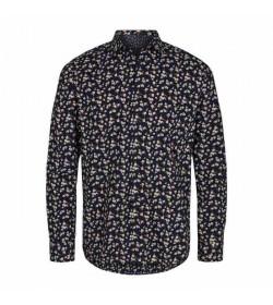 Signal skjorte Aron Floral print duke blue-20