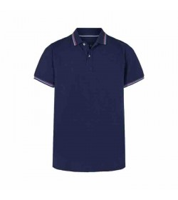 Signal polo Birger Duke blue melange-20