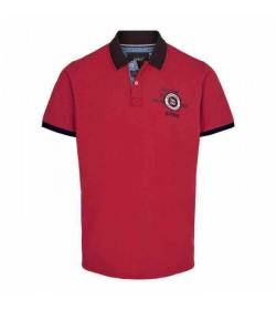 Signal polo Gaston CP Poppy red melange-20