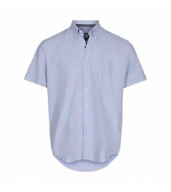 Signal kort ærmet skjorte JIMMY CP Pond blue-20
