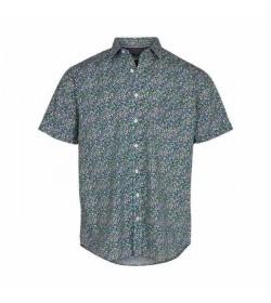 Signal kort ærmet skjorte Arthur print CP Light green grass-20