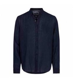 Signal skjorte Andreas Linen Duke blue-20