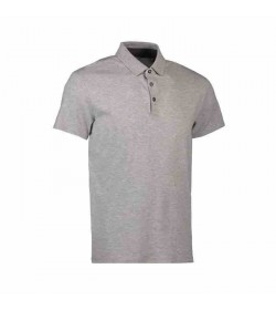 Seven Seas polo s600 light grey melange-20