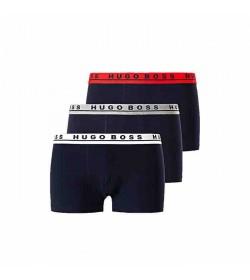 Hugo Boss 3-pack trunks 50426021-965 rød/hvid/grå-20