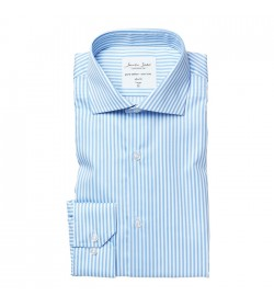 Seven Seas skjorte slim fit S90 Light blue-20