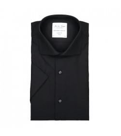 Seven Seas kortærmet skjorte modern fit ss254 black-20
