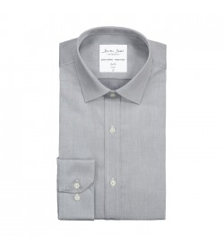 Seven Seas skjorte slim fit ss30 silver grey-20