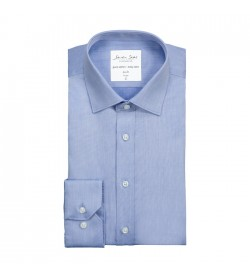 Seven Seas skjorte slim fit ss30 light blue-20
