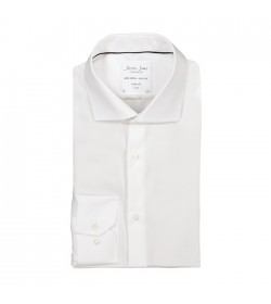 Seven Seas skjorte modern fit ss310 White-20