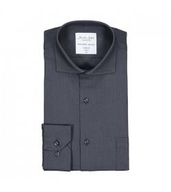 Seven Seas skjorte modern fit ss310 charcoal-20