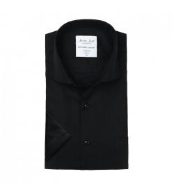 Seven Seas kortærmet skjorte modern fit ss410 black-20