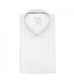 Seven Seas kortærmet skjorte modern fit ss57 white-20