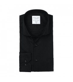 Seven Seas skjorte modern fit ss7 black-20