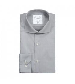 Seven Seas skjorte modern fit ss8 silver grey-20