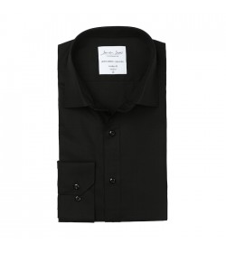 Seven Seas skjorte modern fit ss8 black-20