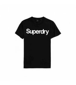Superdry CN NS t-shirt m1010248a black-20