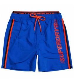 Superdry badeshorts m3010010a blue-20