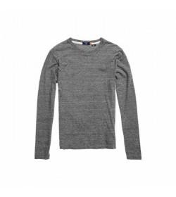 Superdry langærmet t-shirt M6010122A Vintage EMB stone grey-20