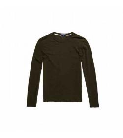 Superdry langærmet t-shirt M6010122A Vintage EMB green-20