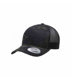 Flexfit snapback 6606MC Sort Camo-20