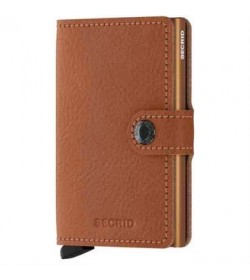 Secrid mini wallet Vegetable caramello-20