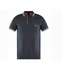 Hugo Boss Athleisure Polo Paul curved grey-20