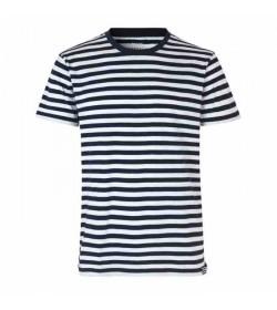 Mads Nørgaard t-shirt Thor midi navy/white-20