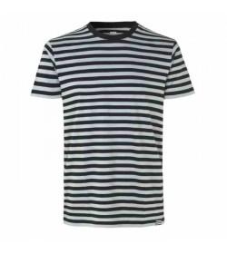 Mads Nørgaard t-shirt Thor midi black/griffin-20