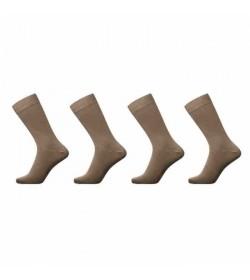 JBS 4-pack strømper brun-20