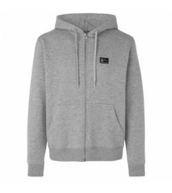 Mads Nørgaard sweat cardigan 110310 Grey melange-20