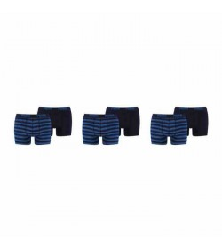 Puma 6-pack basic boxer stripe blue/navy-20
