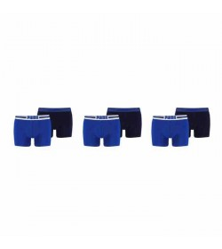 Puma 6-pack basic boxer logo blue/navy-20