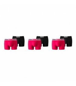 Puma 6-pack basic boxer logo pink/black-20