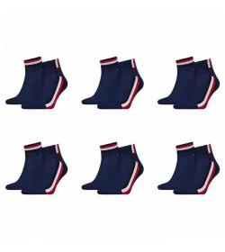 Tommy Hilfiger 12-pack quarter strømper-20