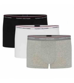 Tommy Hilfiger underwear 3-pak tights sort/hvid/grå-20
