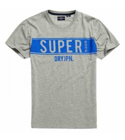 Superdry panel t-shirt m1010388a grey melange-20