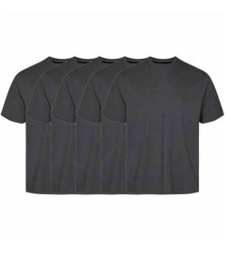 Signal 5-pak Eddy t-shirts Grey melange-20