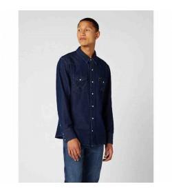 Wrangler denim skjorte W5MSLW301-20
