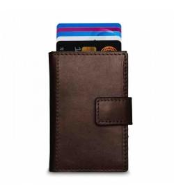 Figuretta mini wallet small brown-20
