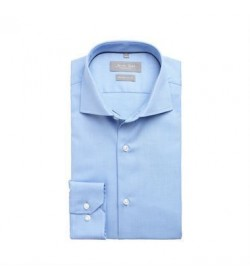 Seven Seas skjorte modern fit ss310 light blue-20