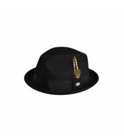 Headzone Baileys Cloyd Black felt hat-20