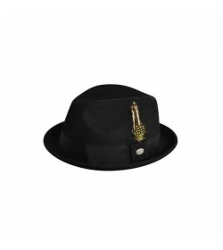 Headzone Baileys Cloyd Olive Grey felt hat-20