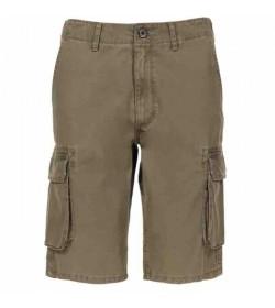 Wrangler cargo shorts w15dkc275 duste olive-20